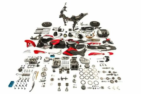 Disassembled NC750XA